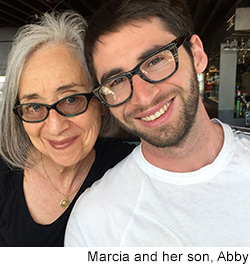 marcia falk and her son Abby